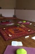 Foto Seminarraum mit Sitzkissen