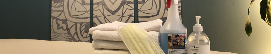 Hygienemaßnahmen gegen Coronavirus bei Massagen