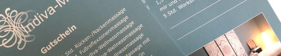 Geschenkgutschein für Massage in Siegburg