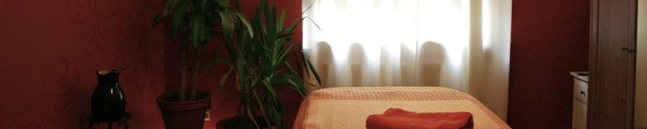 Massageraum in Siegburg für Supervision von Masseuren